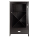 Winsome 92442 Bordeaux Wine Cabinet X Panel Modular, 22