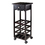 Winsome 92515 Marsala Wine Cart, Dark Espresso Finish