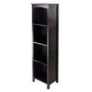 Winsome 92516 Terrace Storage Shelf 5-Tier in Espresso Finish