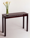 Winsome 92730 Wood Linea Console / Hall Table with Chrome Accent