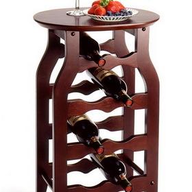 Winsome 92825 Wood Wine Rack 8-Bottle