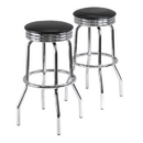 Winsome 93028 Summit Set of 2 Swivel Bar Stools