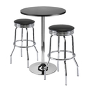Winsome 93362 Summit 3-Pc Bar Table Set, 24
