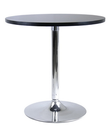 "Winsome 93729 Wood 29"" Round Dinning Table with Metal Leg"