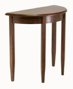 Winsome 94132 Wood Concord Half Moon Accent Table