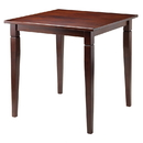 Winsome 94133 Kingsgate Dining Table Routed with Tapered Leg