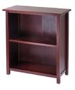 Winsome 94228 Wood Milan Storage Shelf or Bookcase, 3-Tier, Medium