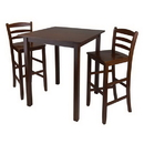 Winsome 94359 Parkland 3pc High Table with 29