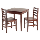 Winsome 94367 Pulman Extension Table Walnut