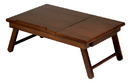 Winsome 94623 Alden Lap Desk, Flip Top with Drawer, Foldable Legs