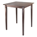 Winsome 94634 Kingsgate High Table Tapered Legs