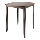 Winsome 94733 Inglewood High Table, Curved Top