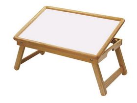 Winsome 98721 Wood Breakfast Bed Tray, Flip Top, Foldable Legs