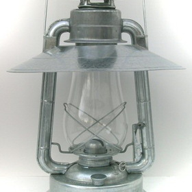 "W.T. Kirkman No. 2 ""Champion"" Lantern w/ Hooded Reflector"
