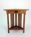 Wayborn 9009 Corner Table, 30'' x 28'' x 8'', Oak