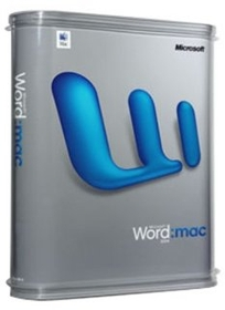 Microsoft D48-00488 Word 2004 Mac Upgrade