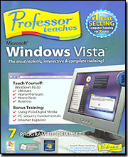 Individual Software PMM-WV2 Professor Teaches Microsoft Windows Vista (Version 2)