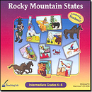 SelectSoft Publishing 43500 Rocky Mountain States Grade 4-6 - Created By Teachers