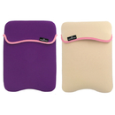 Manhattan Empire 421867 Reversible Notebook Sleeve Fits Most Widescreens Up To 12.1 Purple And Cream