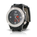 S-Pulse HSN17005L Fashion Heart Rate And Dual Time Zone Watch With Large Led Readout
