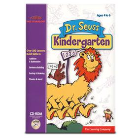 Broderbund 1-57135-401-8 Dr. Seuss Kindergarten