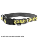 PetSafe Fido Finery Quick Snap Collar (Small, Dotted Bliss)