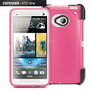 OtterBox Defender Case HTC One Blushed