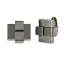 Seville Gunmetal Cuff Links