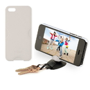Tiltpod 4-in-1 Tripod, Phone Case, Keychain, and Stand for iPhone 5 (White)