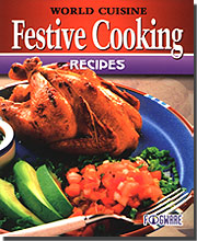 FogWare Publishing 90808 World Cuisine: Festive Cooking Recipes