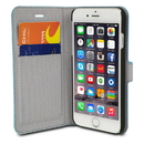 Chil Attraction Jacket Magnetic Wallet & Case for iPhone 6 Plus (Teal), 0112-1388