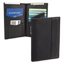 Travelon SafeID Classic Executive Organizer Passport & ID Travel Holder, Black