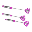 Ronco Self Turning Turbo Whisk, Purple (3 Pack)