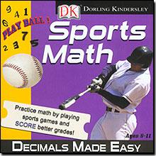 Dorling Kindersley Multimedia 00099 Sports Math - Decimals Made Easy