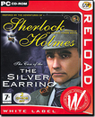 CDV Software 112994 Sherlock Holmes Silver Earring