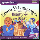 SelectSoft Publishing LESPL9BEAJ Learn 9 Languages With Beauty & The Beast