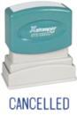 Xstamper 1119 1-Color Pre-Inked Title Stamp reads: