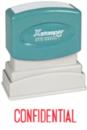 Xstamper 1130 1-Color Pre-Inked Title Stamp reads: