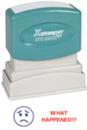 Xstamper 2017 2-Color Pre-Inked Title Stamp reads:
