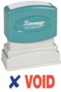 Xstamper 2037 2-Color Pre-Inked Title Stamp reads: