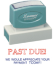 Xstamper 3286 Jumbo Stock Stamp - reads: