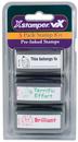 Xstamper 35207 VX, Teacher Stamps, Kit 3, 'This Belongs To' - 'Terrific Effort' - 'Brilliant