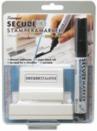 Xstamper 35303 Secure Kit, Stamp & Marker Combo, 15/16