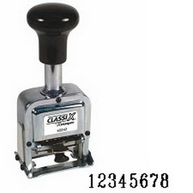 Xstamper 40244 Self-Inking, Automatic Number Stamp, Size: 1 / 8-Band