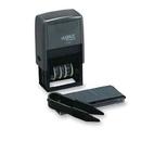 Xstamper 40440 Plastic Self-Inking, Date Stamp Kit