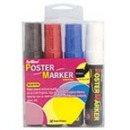 Xstamper 47319 (PRIMARY) EPP-12 Poster Marker 4PK, 12.0mm
