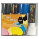 Xstamper 47327 (PRIMARY) EPP-30 Poster Marker 4PK, 30.0mm