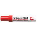 Xstamper 47442 Big Nib Whiteboard Marker EK-5100A, Red, 5.0mm