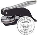 """Xstamper E11-754 Pocket Embosser, 1-1/2"""" Diameter"""