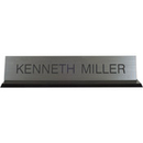 Xstamper K45 Acrylic Base Desk Sign Black Frame 2